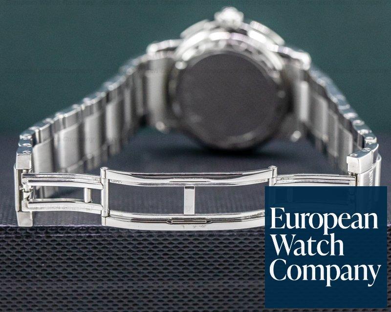 Blancpain 2160-1130M-71 Timezone Black Military Dial SS Bracelet