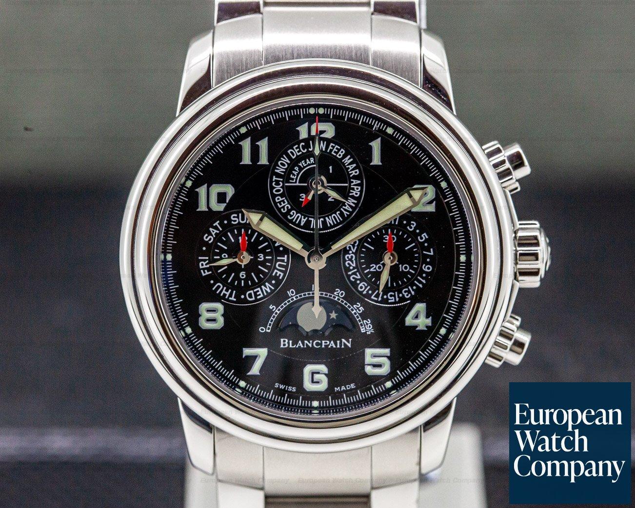Blancpain 2585F-1130-71 Perpetual Calendar Flyback Chronograph SS