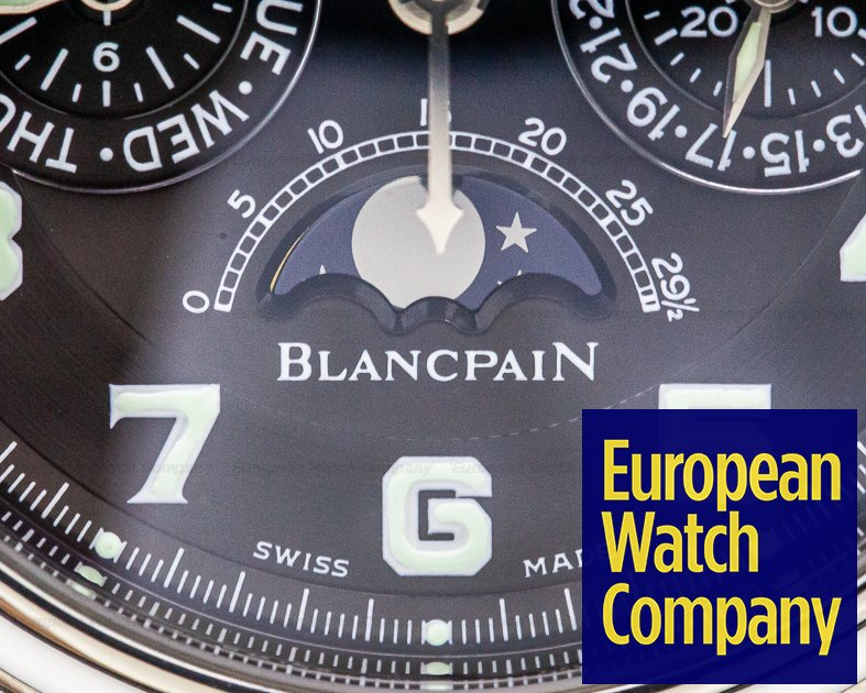Blancpain 2585F-1130-71 Perpetual Calendar Flyback Chronograph SS