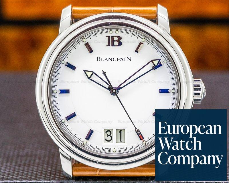 Blancpain 2850-1127-53 Leman Big Date 40mm