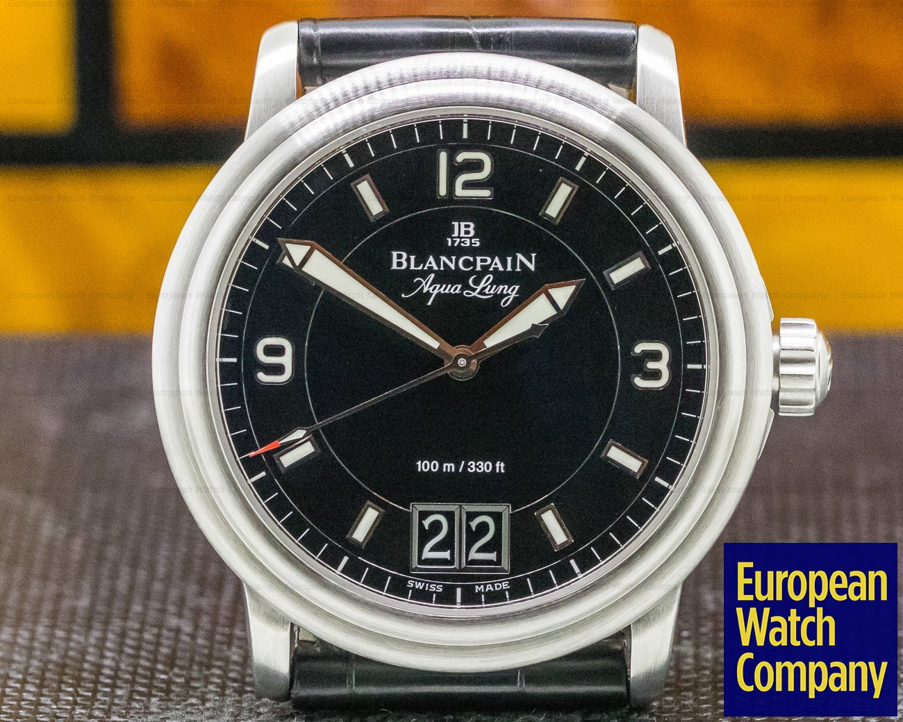 Blancpain 2850B-1130A-71 Aqualung Big Date Black Dial VLADAMIR PUTIN Limited SS