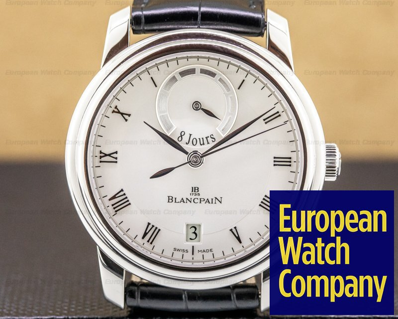 Blancpain 4213-3442-55B Le Brassus 8 Day Platinum Limited