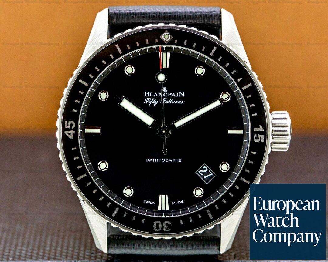 Blancpain Fifty Fathoms Bathyscaphe Automatic Titanium Ref. 5000-1230-b52a