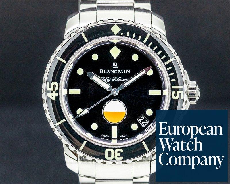 Blancpain 5008-1130-B52A Tribute to Fifty Fathoms MilSpec SS / Bracelet LIMITED