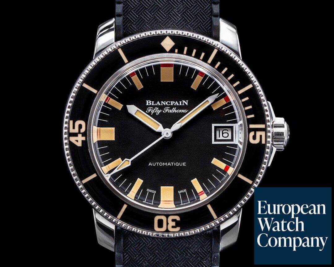 Blancpain Fifty Fathoms Barakuda SS LIMITED 40MM Ref. 5008B-1130-B52A