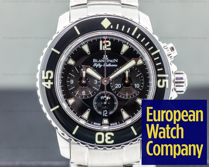 Blancpain 5085F-1130-71 Fifty Fathoms Flyback Chronograph SS / SS