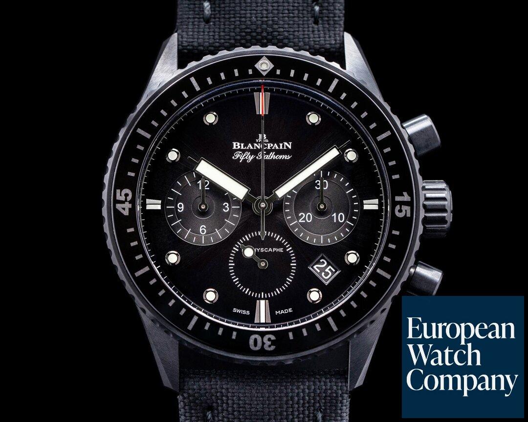 Blancpain 5200-0130-NABA Fifty Fathoms Bathyscaphe Flyback Chronograph Ceramic
