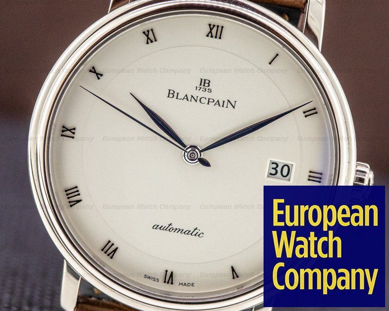 Blancpain 6223-1542-55A Ultra Slim Automaitc 18K White Gold