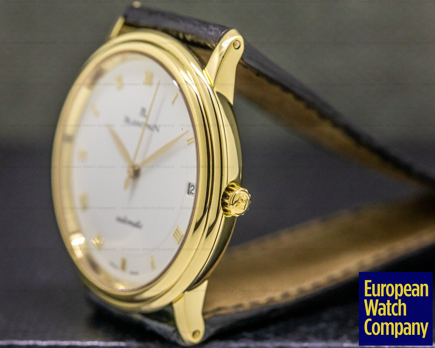 Blancpain 6223-3642-55 Ultra Slim Automatic 18K Yellow Gold 33.5MM