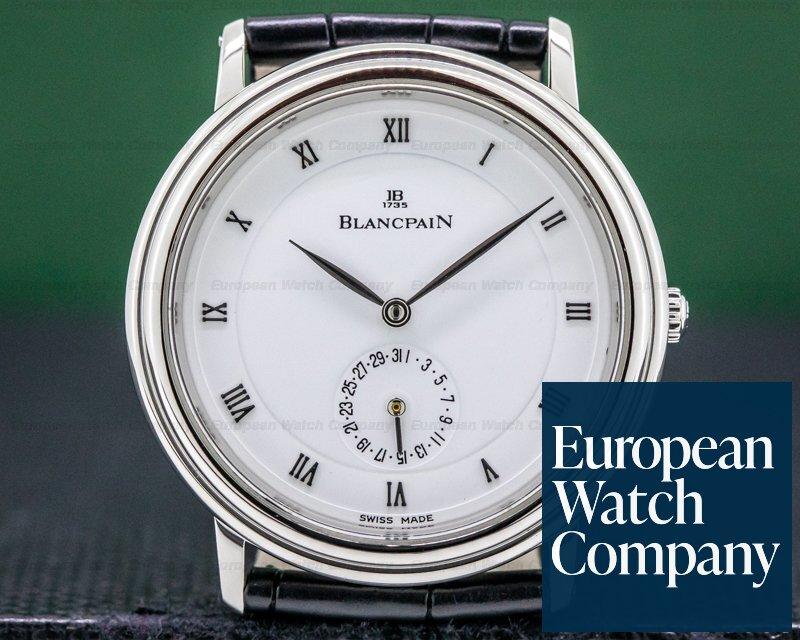 Blancpain Villeret Ultra Slim Automatic Platinum 34MM