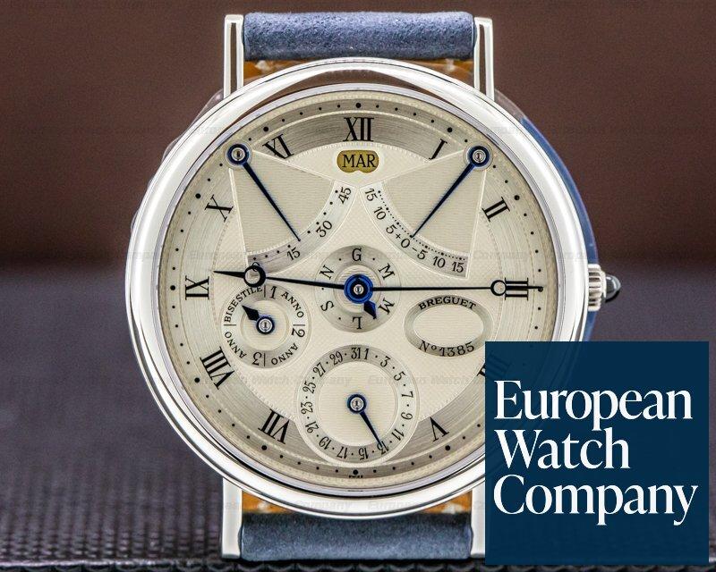 Breguet 3470 Classique Perpetual Calendar Equation of Time Platinum FACTORY SERVICED
