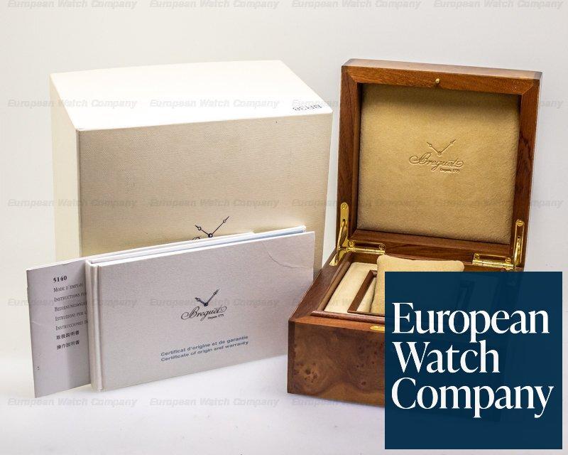 Breguet 5140BB/29/W6 Classique 5140 18K White Gold Enamel Dial