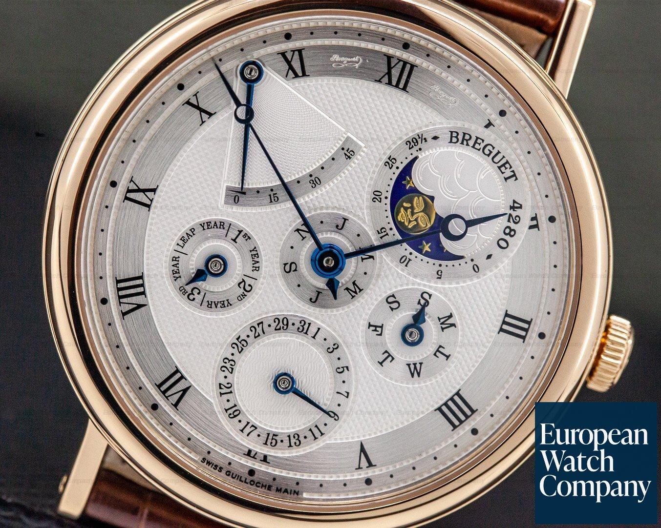Breguet 5327BR/1E/9V6 Perpetual Calendar 18K Rose Gold