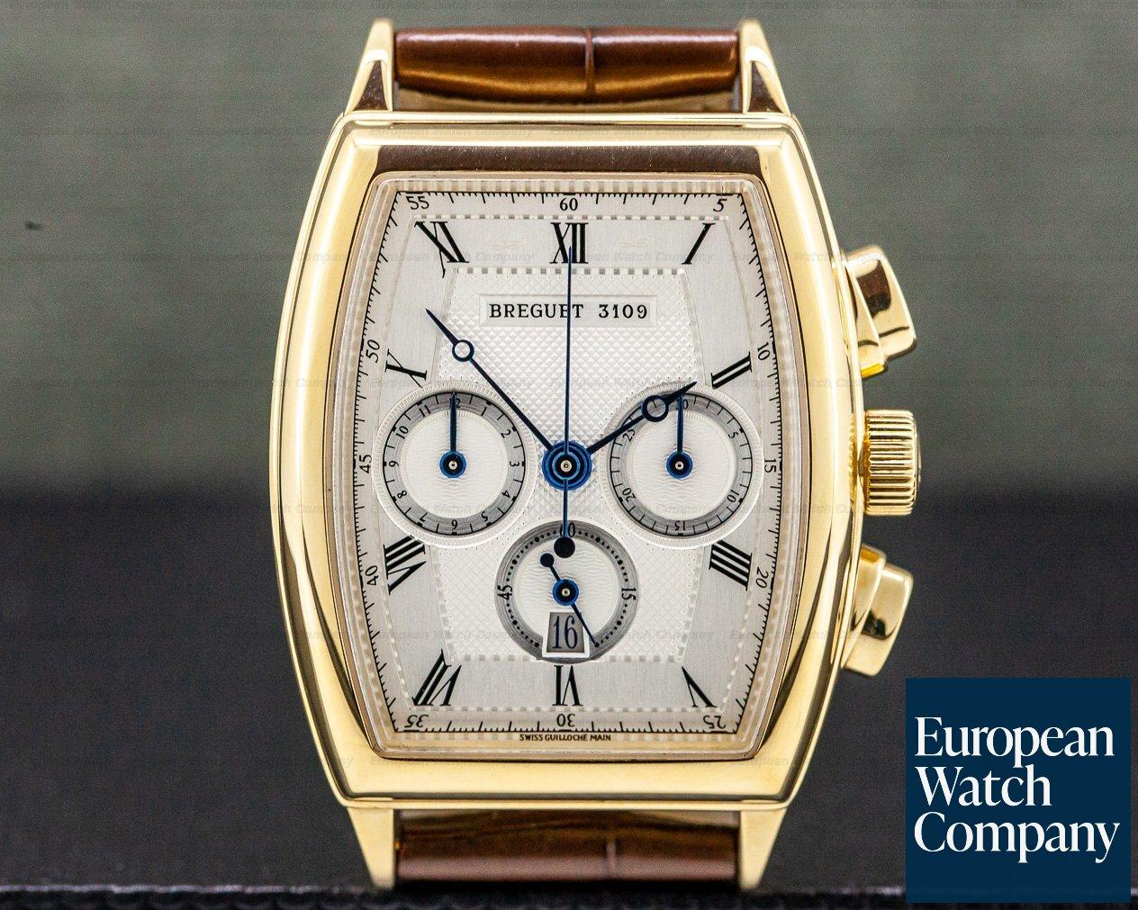 Breguet 5460BA/12/996 Heritage Chronograph 18K Yellow Gold