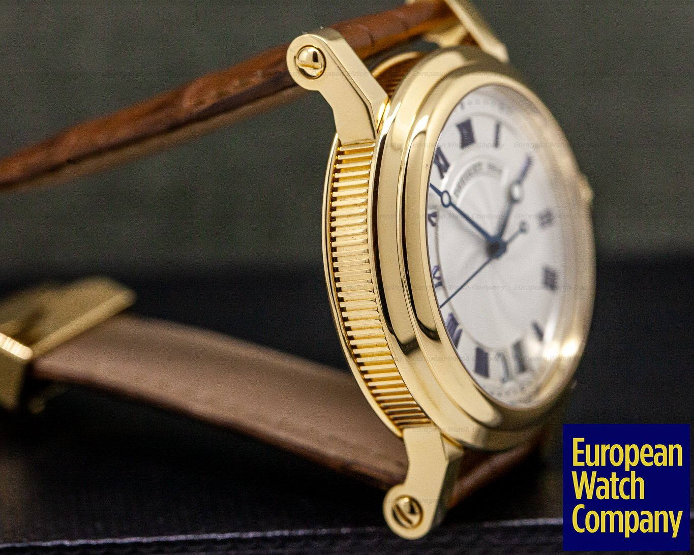 Breguet 5817BA/12/9V8 Marine Automatic Big Date 18K Yellow Gold