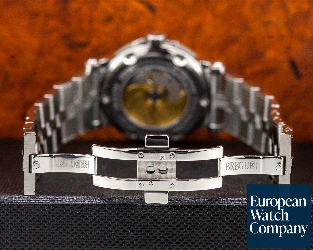 Breguet 5817ST/92/SM0 Marine Big Date Black Dial SS / SS