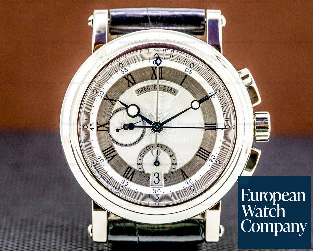 Breguet Marine Chronograph 5827BB 18K White Ref. 5827BB/12/5ZU