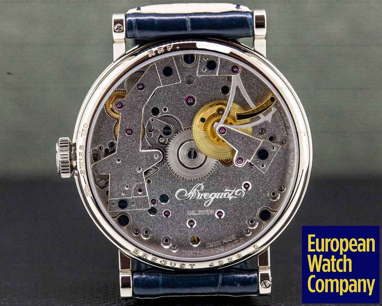 Breguet 7027BB La Tradition 18K White Gold 38MM