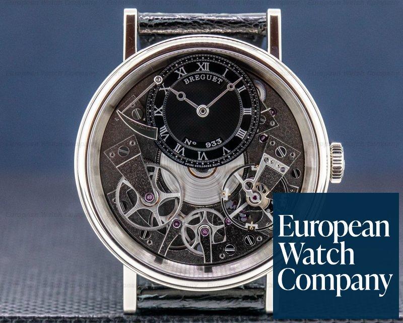 Breguet 7057BB/G9/9W6 La Tradition Black Dial / 18K White Gold 40MM