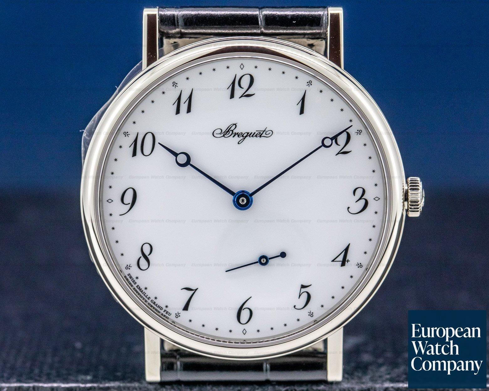 Breguet 7147BB/29/9WU Classique Automatic Enamel Dial 18K White Gold UNWORN