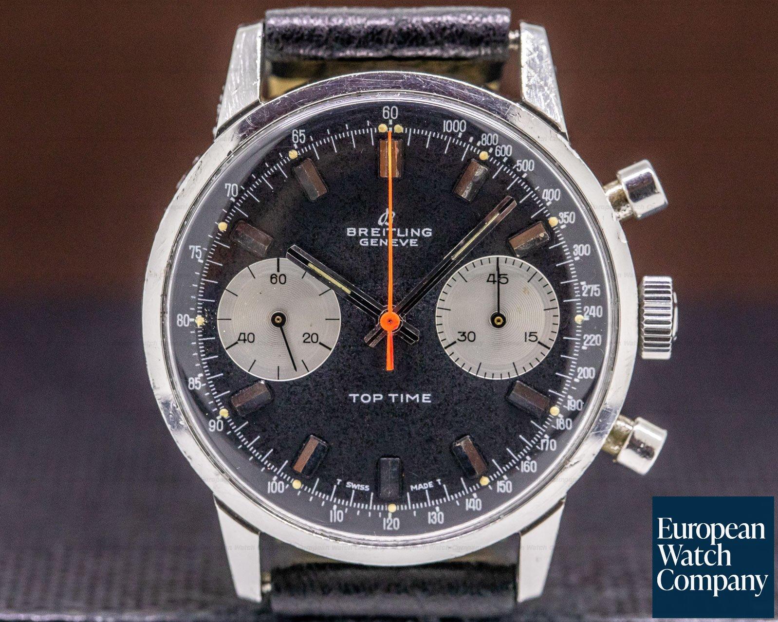 Breitling 2002-33 Vintage Top Time Bi Compax Black Dial