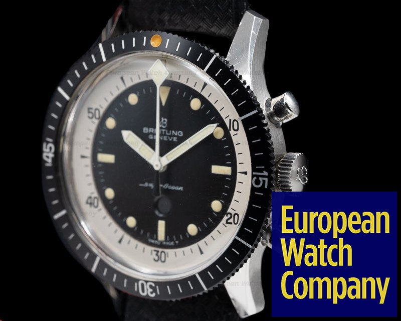 """Breitling 2005 Vintage Breitling SuperOcean """"Slow Counter"""" NEW OLD STOCK"""