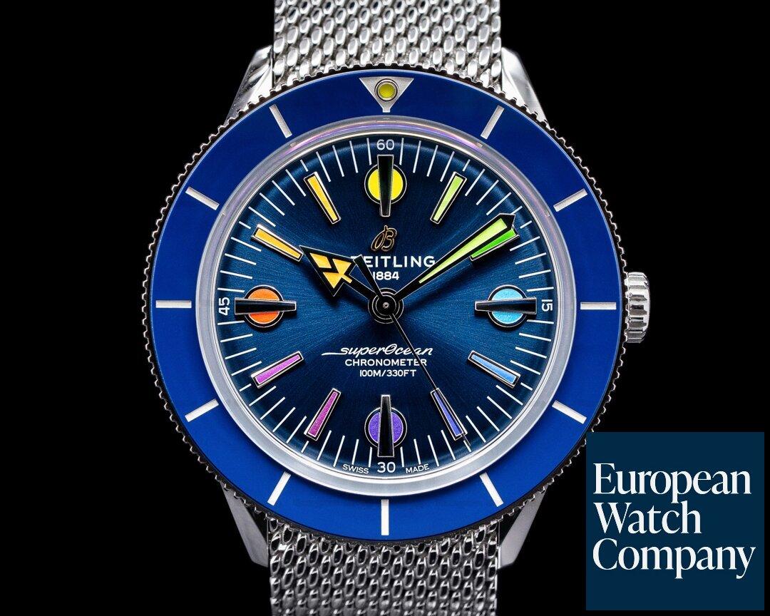 Breitling SuperOcean Heritage 57 Limited Edition Rainbow UNWORN Ref. A103702/A1C1A1