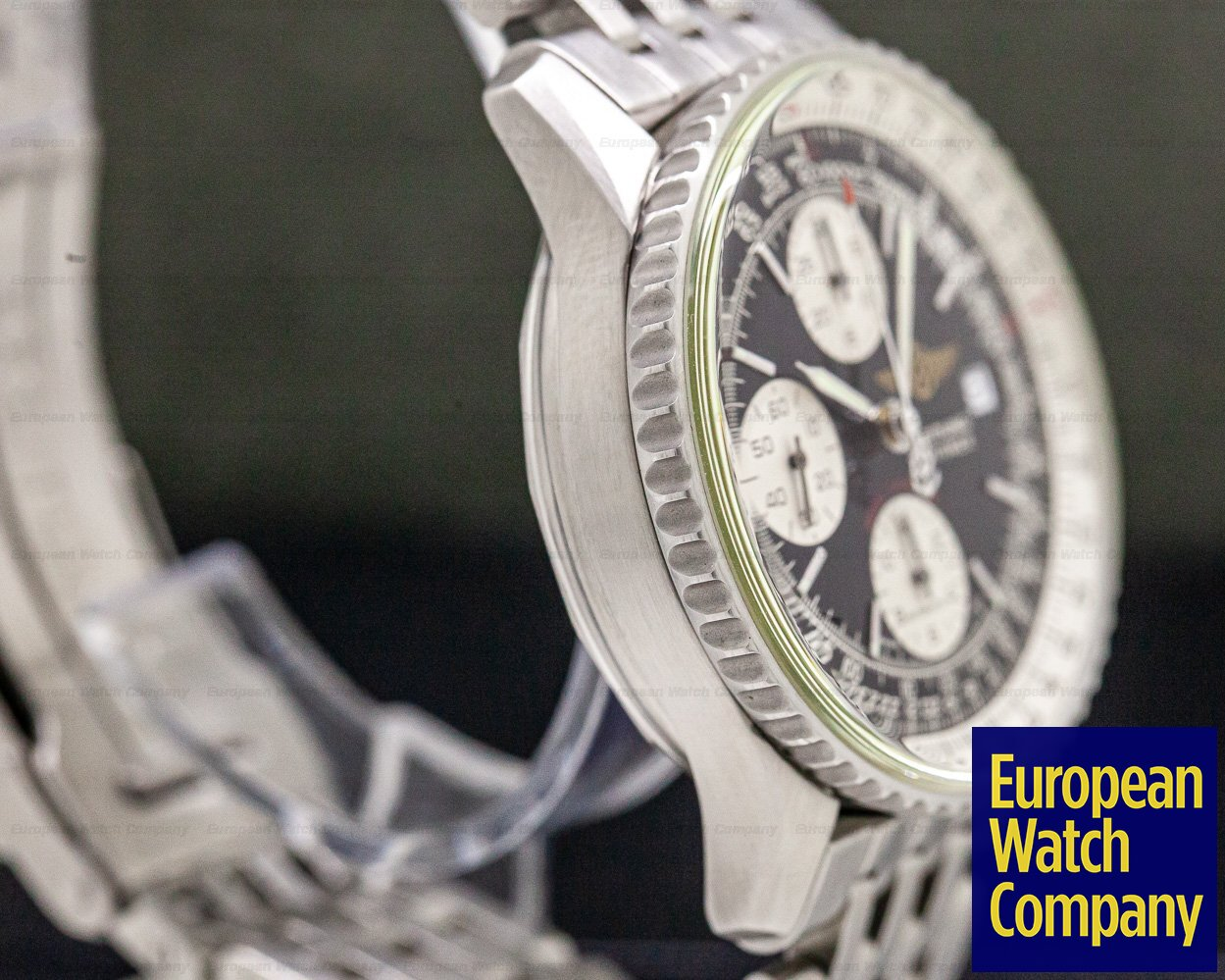 """Breitling A13330 Navitimer """"Breitling Fighters"""" Automatic Chronograph SS"""