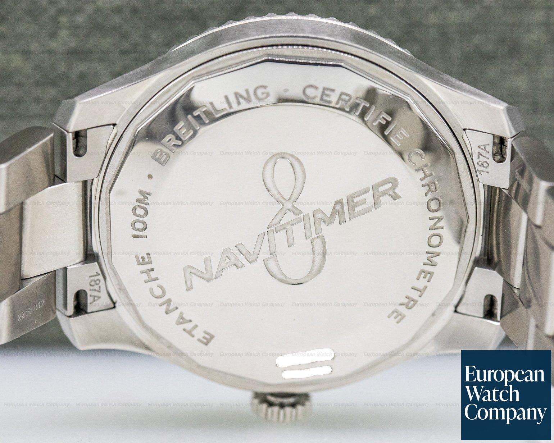 Breitling A17314101C1A1 Navitimer 8 SS Blue Dial / Bracelet