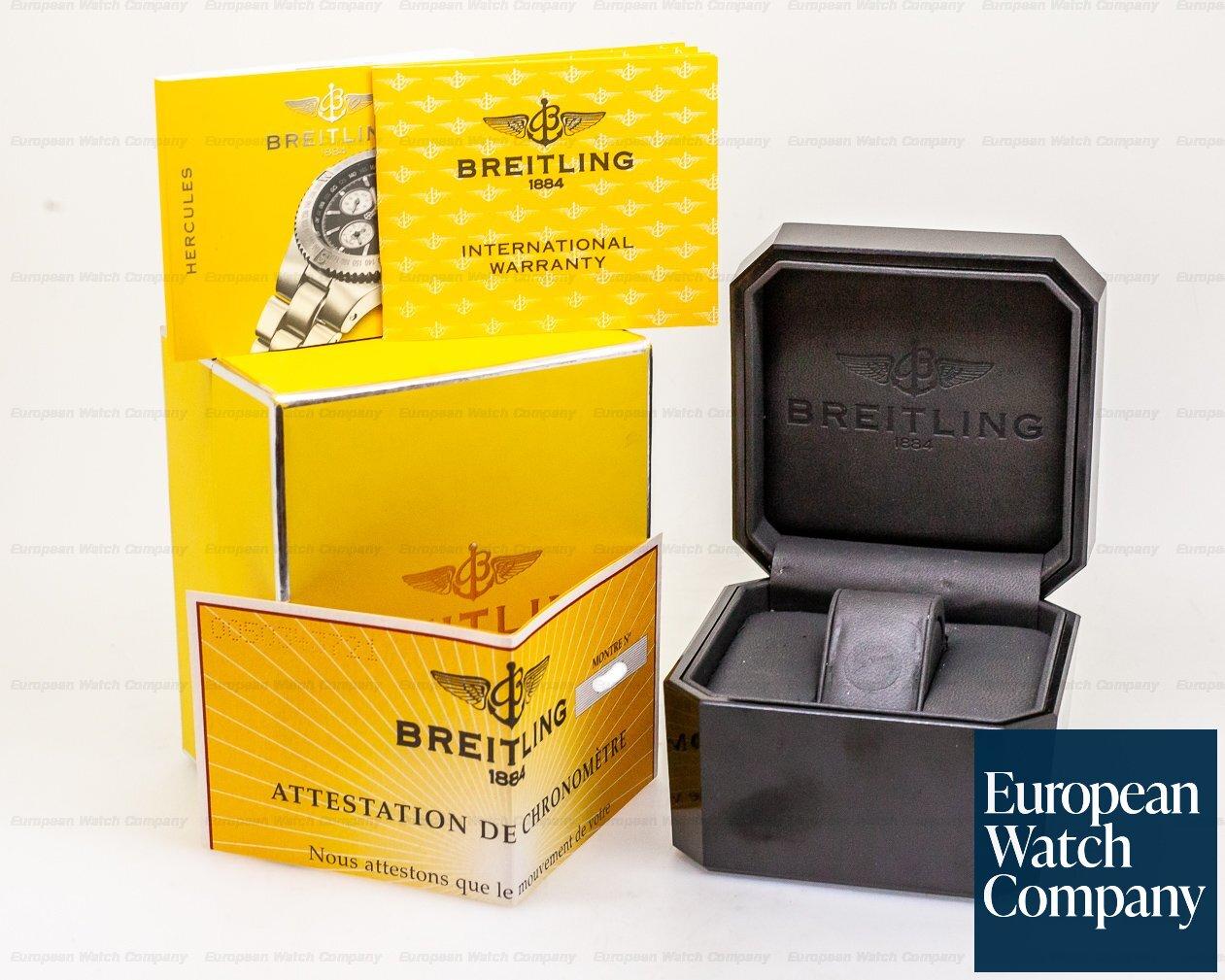 Breitling A3936310/B641 Hercules SS Black Dial / Bracelet