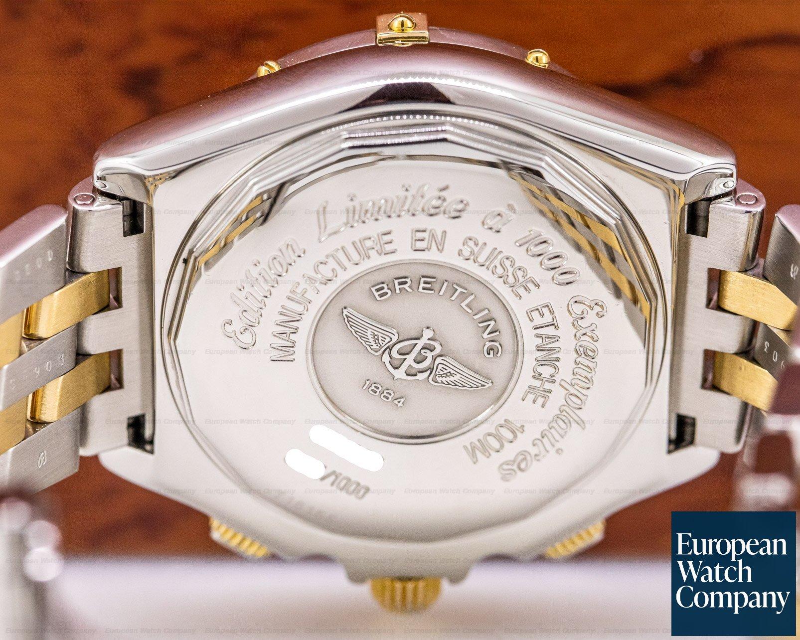 Breitling B44356 Crosswind Special Chronograph SS / YG