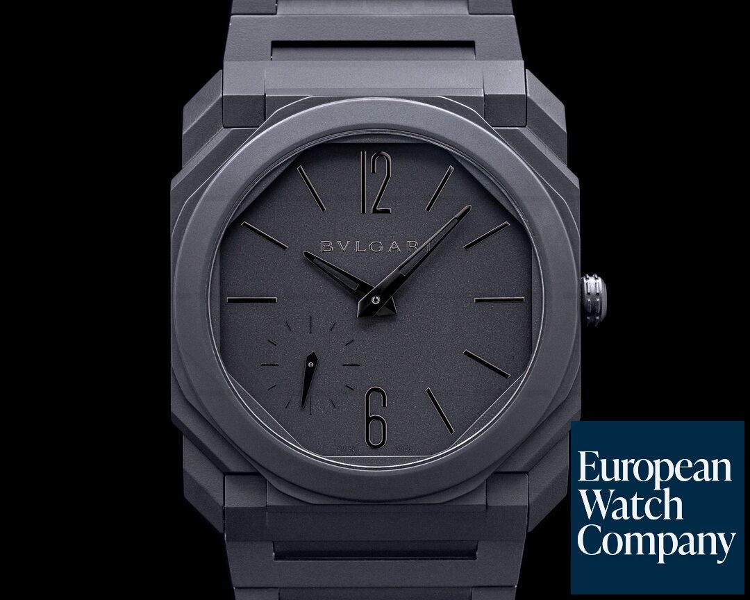 Bulgari 103077 Octo Finissimo Extra Thin Ceramic Black 40mm
