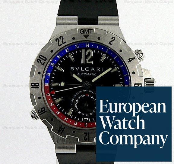 Bulgari Diagono Mens Professional GMT Automatic Ref. GMT40SVD