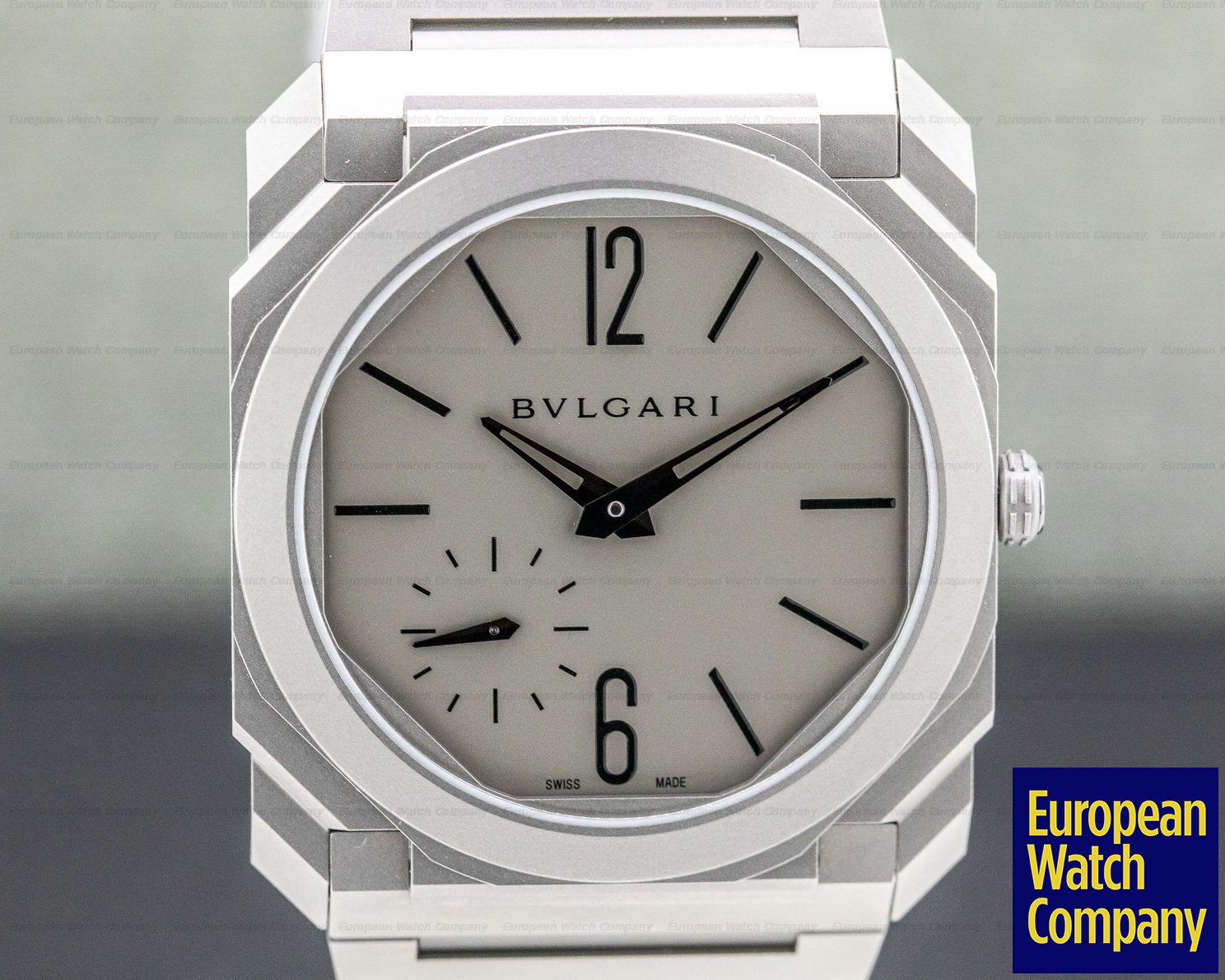 brand new 07e2d ac03c 32685) Bvlgari 102713 BGO40C14TTXTAUTO Octo Finissimo ...