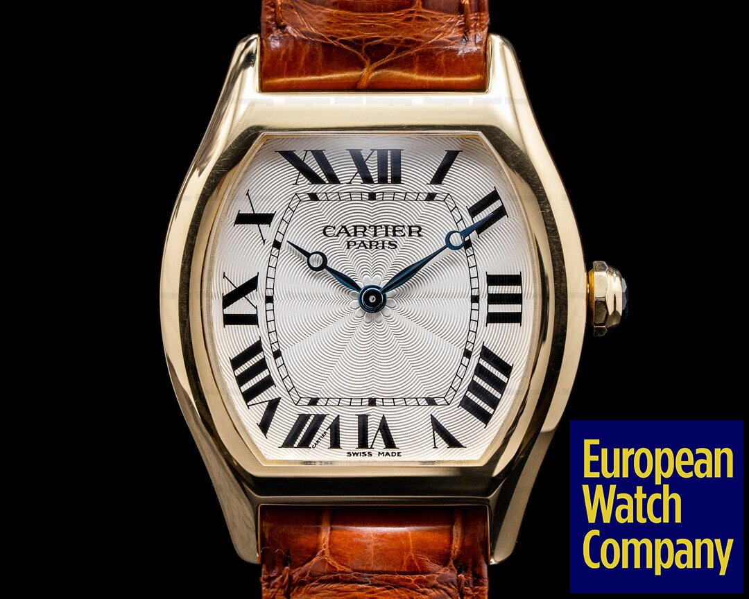 Cartier 2498/W1536851 Privee Collection Tortue 18K Yellow Gold