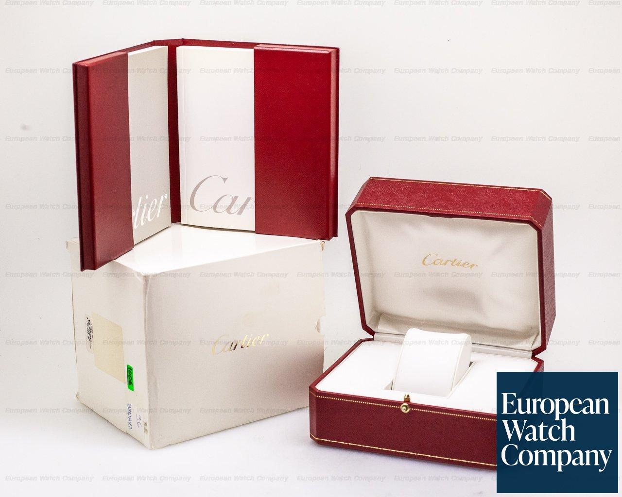 Cartier W2006851 Santos Dumont Yellow Gold Manual Wind
