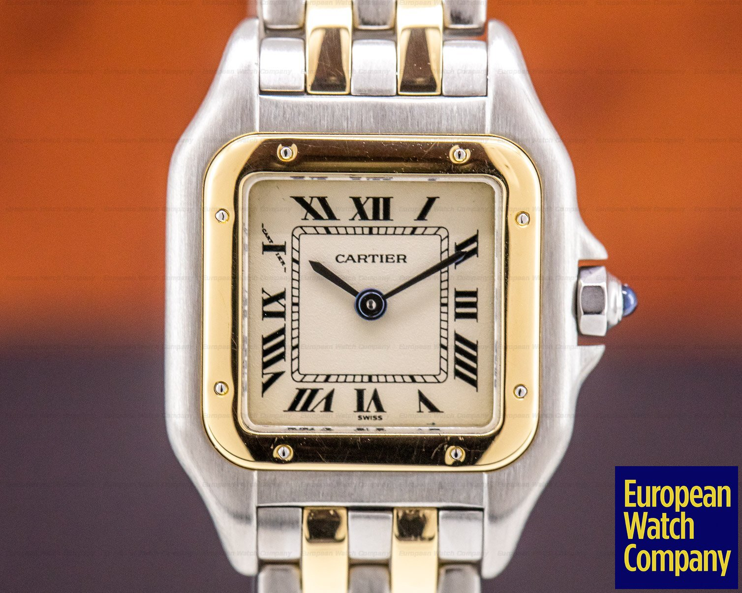 Cartier W25029B6 Panthere Mini 18K Yellow Gold / SS