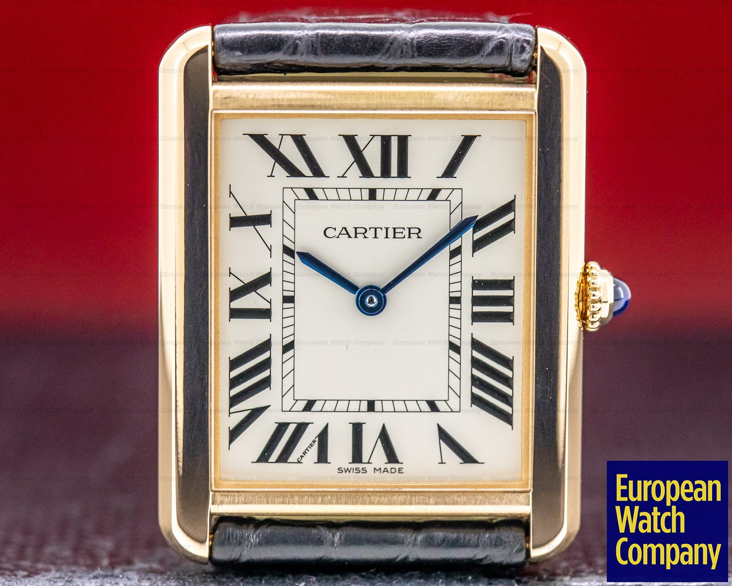 Cartier W5200025 Tank Solo Large 18K Rose Gold/ SS Quartz