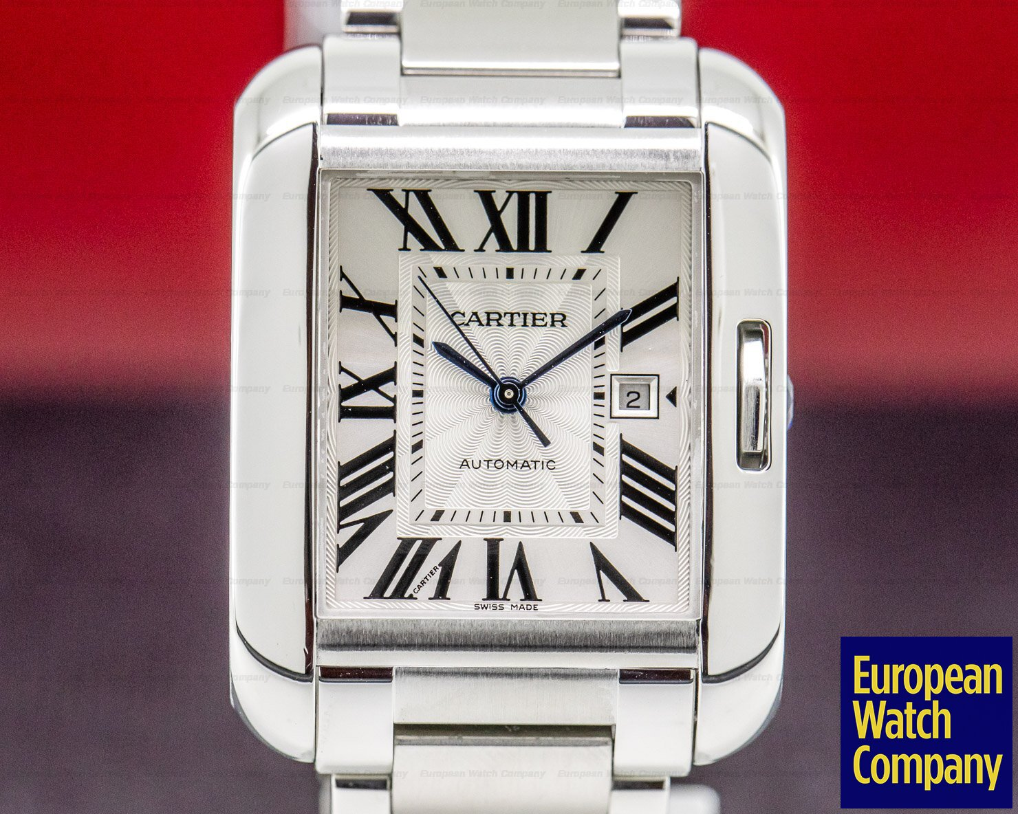 Cartier W5310009 Tank Anglaise Medium SS / SS Automatic