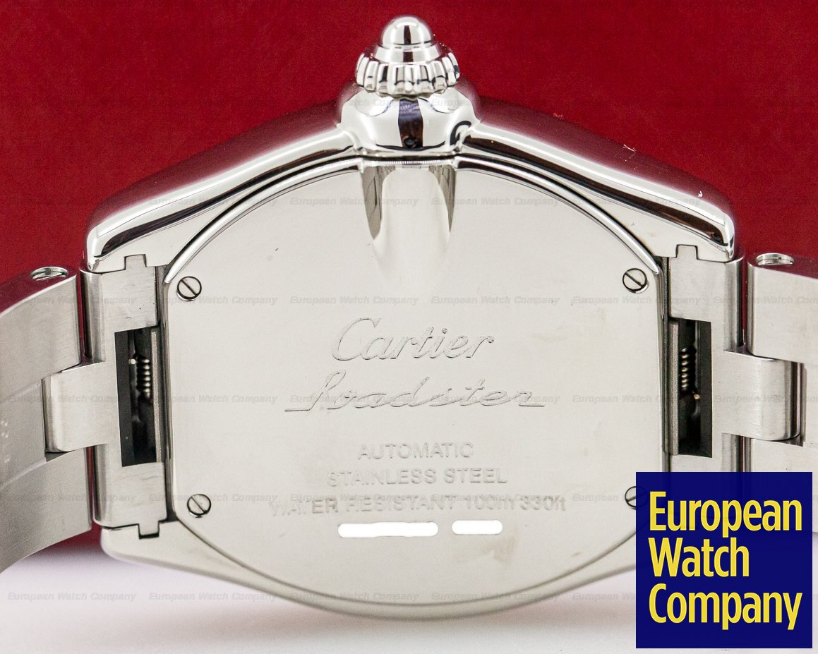 Cartier W62032X6 Roadster GMT XL SS