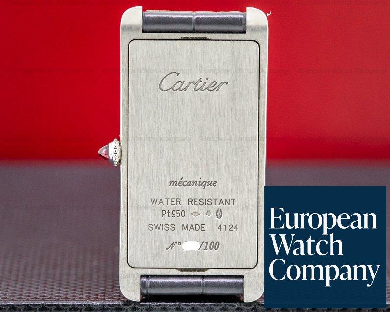 Cartier WGTA0027 Tank Cintree WGTA0027 Platinum LIMITED