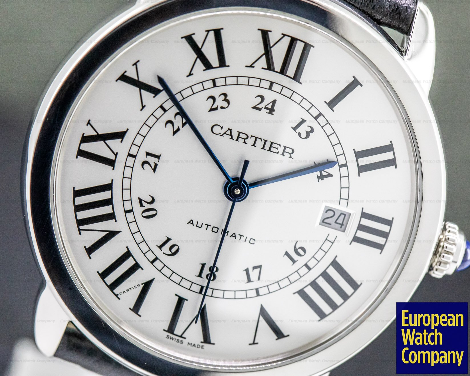 Cartier WSRN0022 Ronde Solo Automatic 42MM SS
