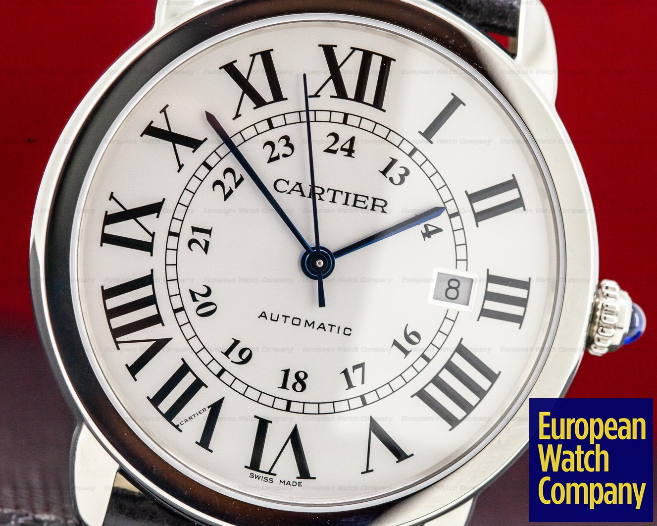 Cartier WSRN0022 Ronde Solo Automatic 42MM SS UNWORN