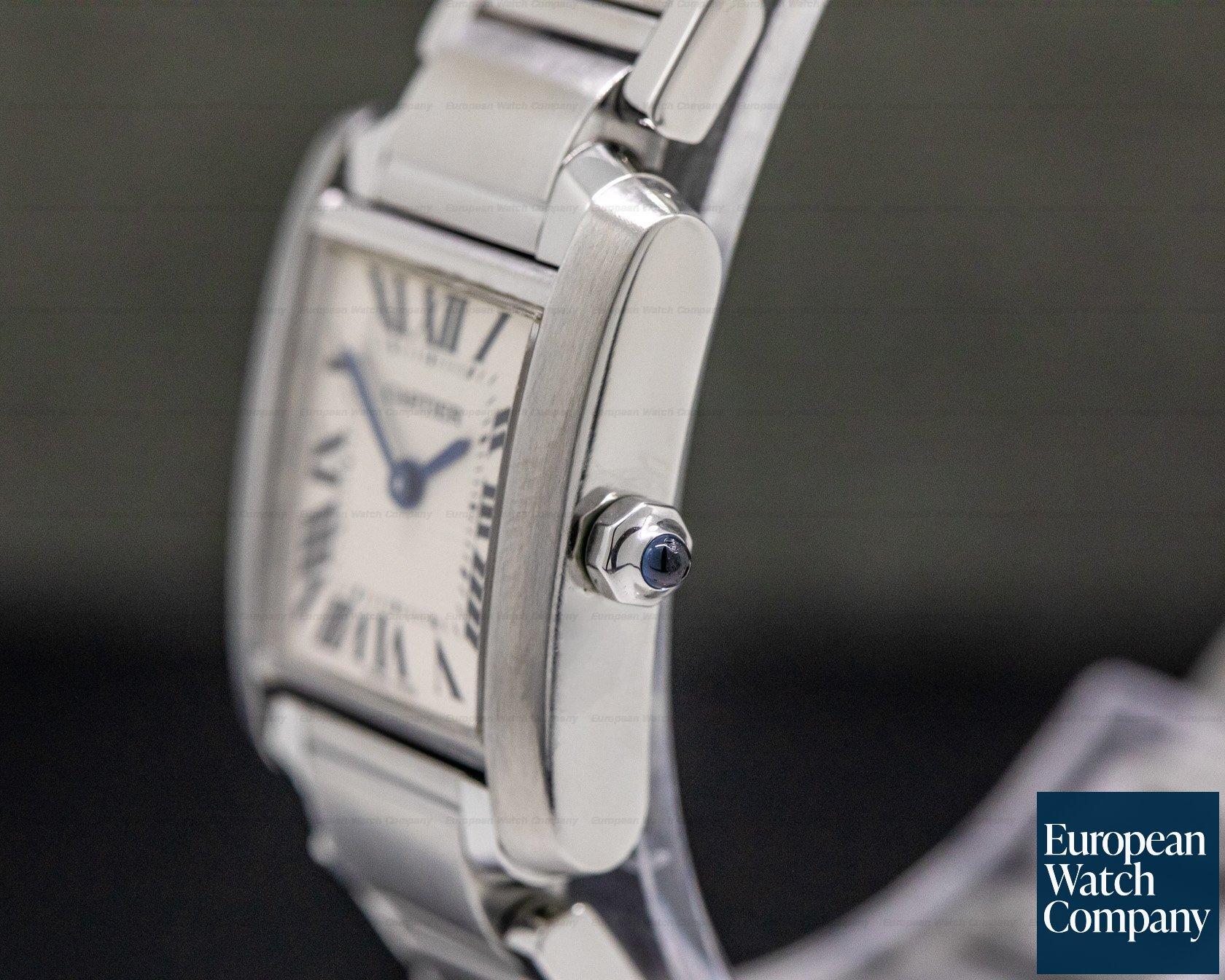 Cartier WSTA0005 Tank Francaise Quartz Mid Size SS