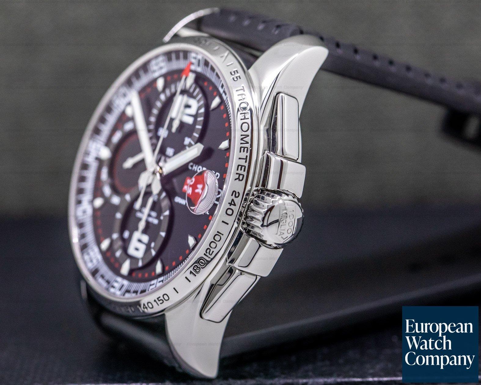 Chopard 16/8459-3001 Gran Turismo GT XL Chronograph SS / Rubber