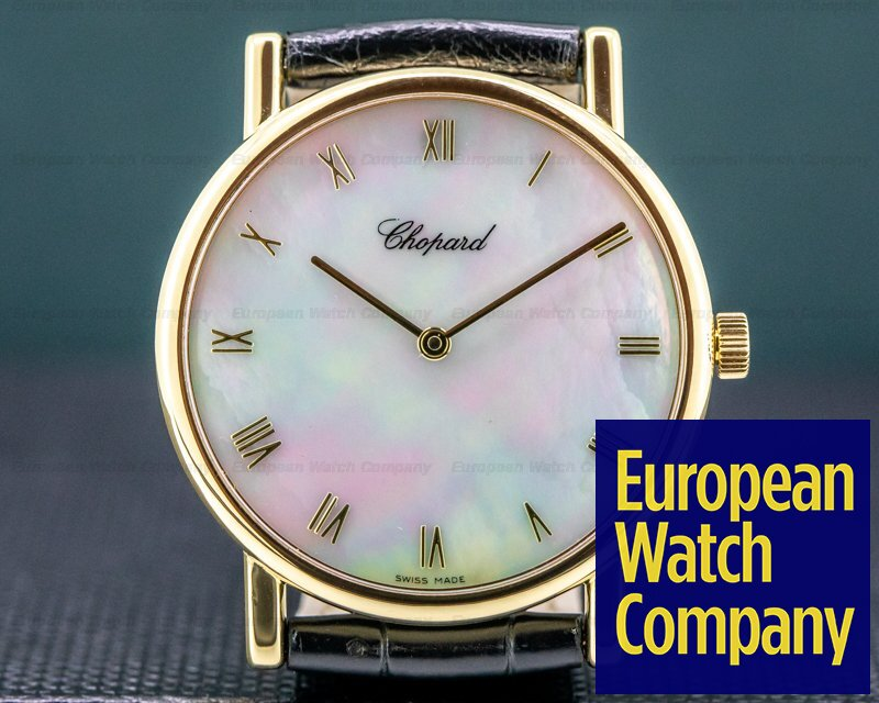 Chopard 163154 Classique 18K YG Mother of Pearl Dial