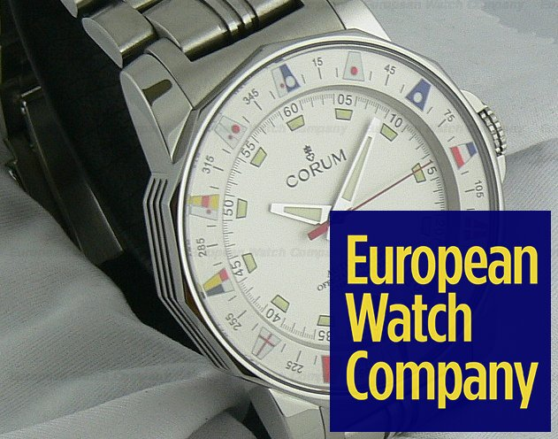 Corum Admirals Cup SS/SS Automatic Ref. 982-530-20-V785 AA32