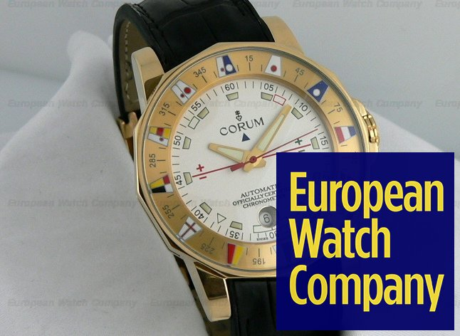 Corum Admirals Cup 18k YG/strap Automatic Ref. 982-630-56-V780-AA32
