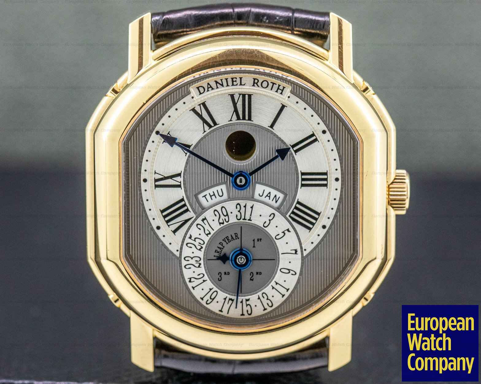 Daniel Roth 118.L.40.011.CN.BA Perpetual Calendar Moon phase 18k Yellow Gold FULL SET