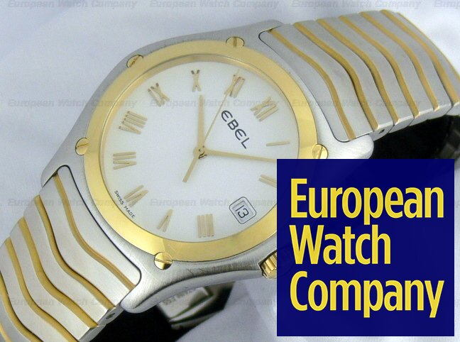 Ebel Classic Wave 18k/SS Ref. 1187F41